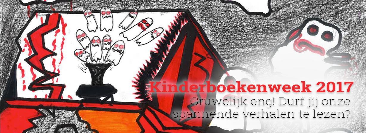 Kinderboekenweek 2017 – Gruwelijk eng!